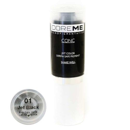 doreme concentrated permanent makeup pigment Jet Black 2