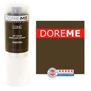 doreme concentrated permanent makeup pigment khaki brown