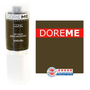 doreme concentrated permanent makeup pigment olive