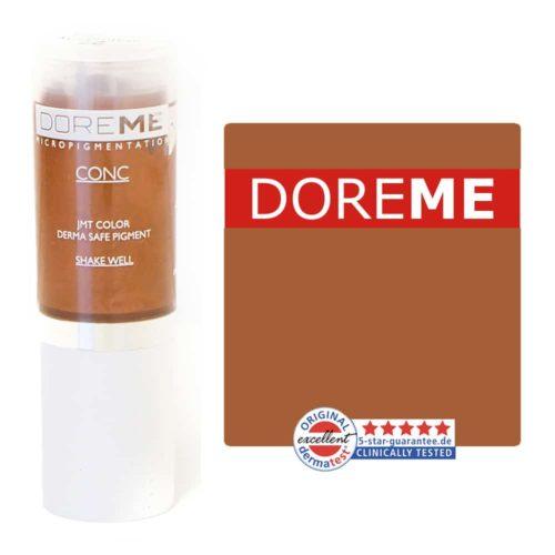 doreme concentrated permanent makeup pigment mahogany