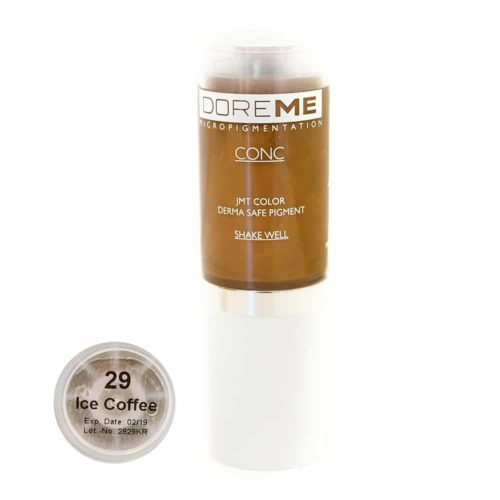 doreme concentrated permanent makeup pigment ice coffee 2