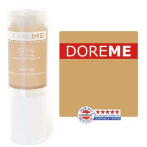 doreme concentrated permanent makeup pigment buttercup