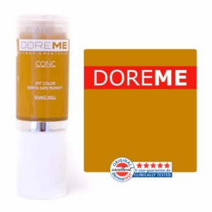 doreme concentrated permanent makeup pigment yellow