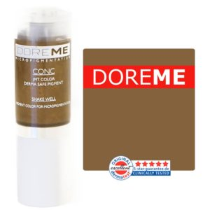 doreme concentrated permanent makeup pigment milano brown
