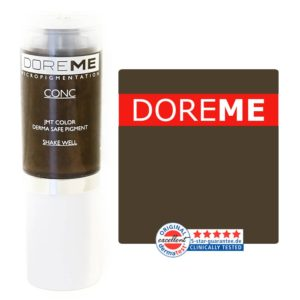 doreme concentrated permanent makeup pigment dark taupe