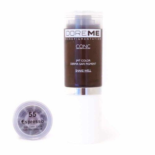 doreme concentrated permanent makeup pigment espresso 2