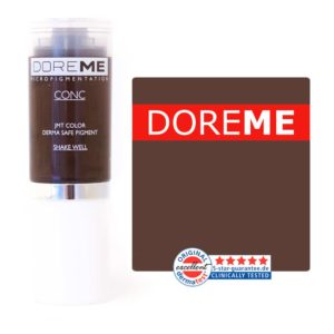 doreme concentrated permanent makeup pigment espresso