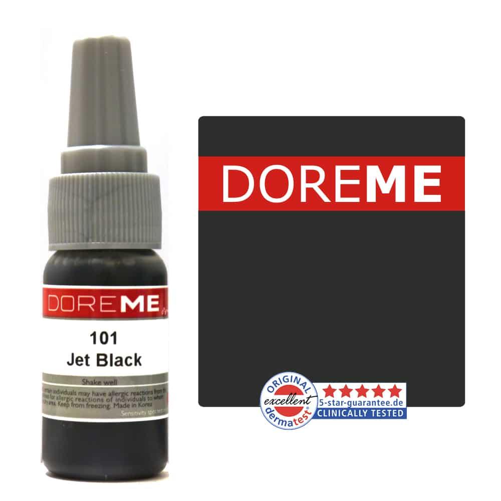 permanent makeup pigment jet black
