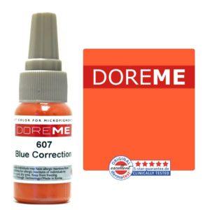 permanent makeup color 607 blue correction