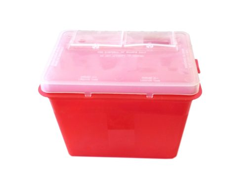 permanent makeup sharps container 2qt