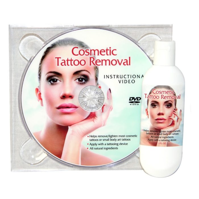 cosmetic tattoo removal cream
