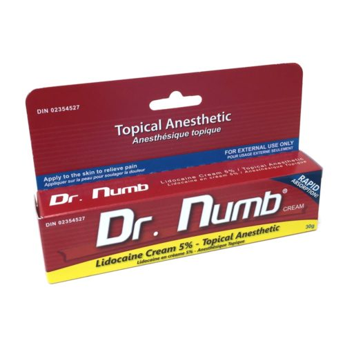 dr numb anesthetic tattoo cream