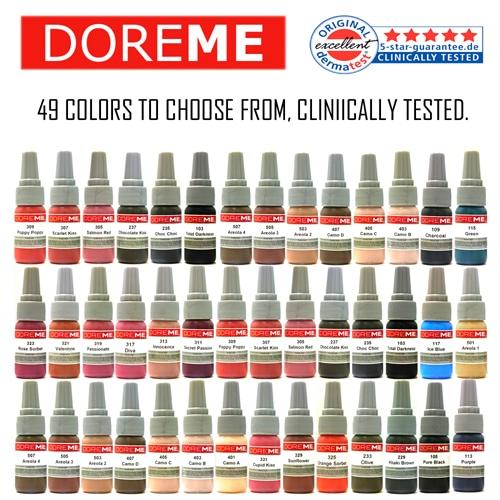 Doreme Pigments