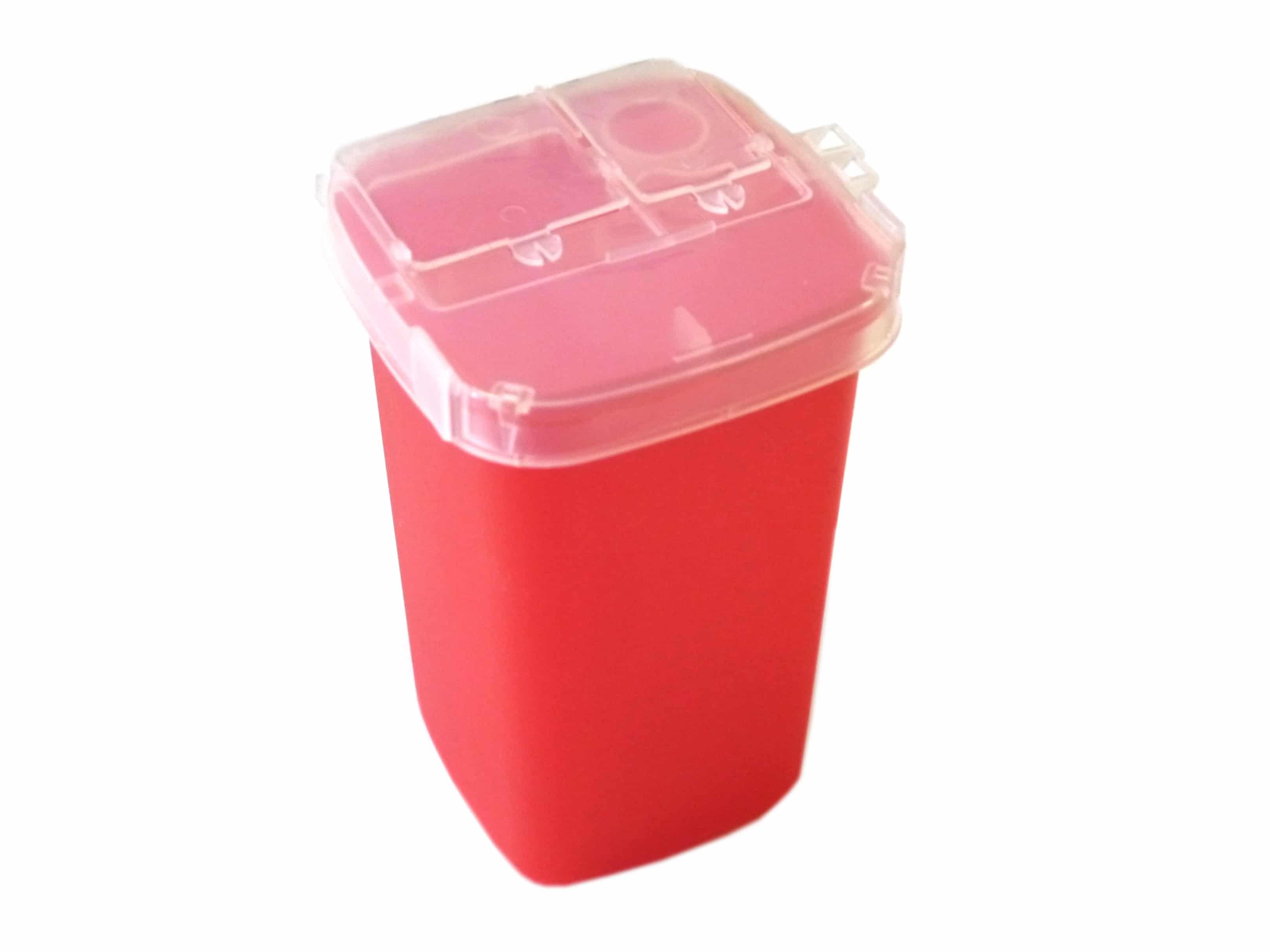 permanent makeup sharps container 1qt 2