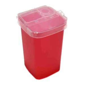 permanent makeup sharps container 1qt