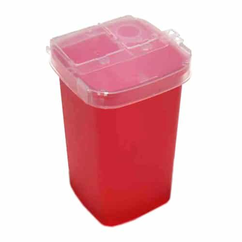 permanent makeup sharps container 1qt