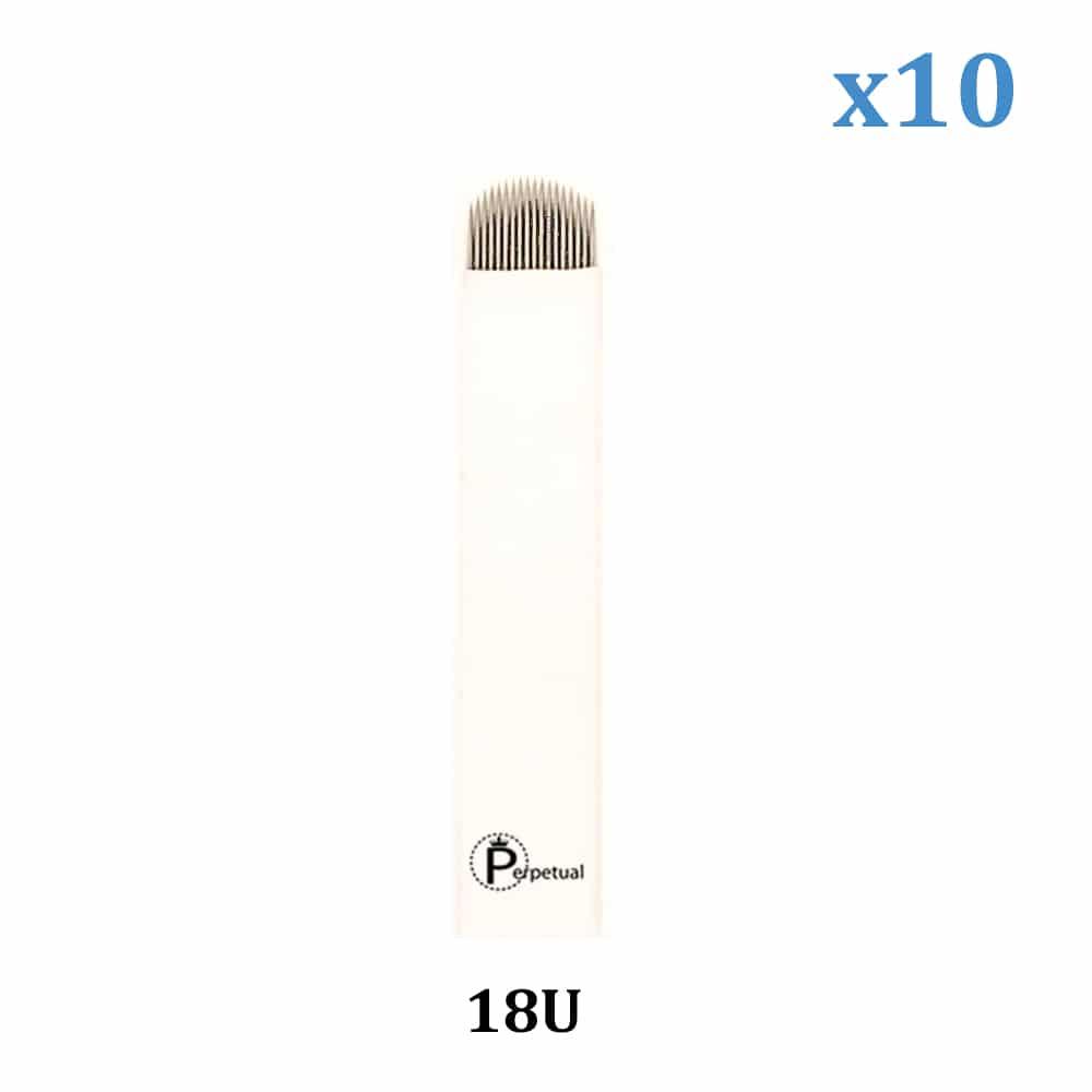perpetual permanent makeup microblade 18 U Shaped blade