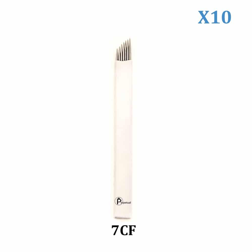 perpetual permanent makeup microblade 7 curved flat