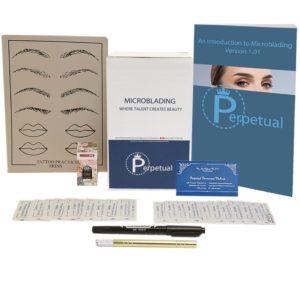 Perpetual permanent makeup microblading starter kit