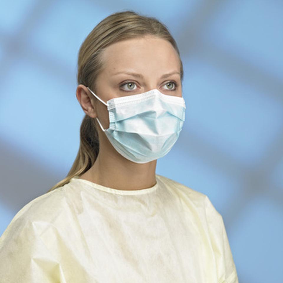 primed mask surgical