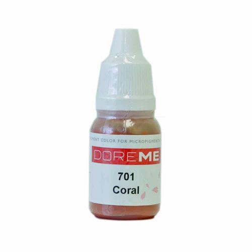 doreme organic pigments coral 701 2
