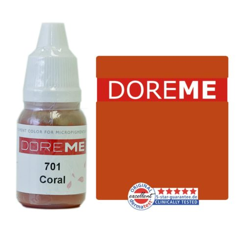 doreme organic pigments coral 701