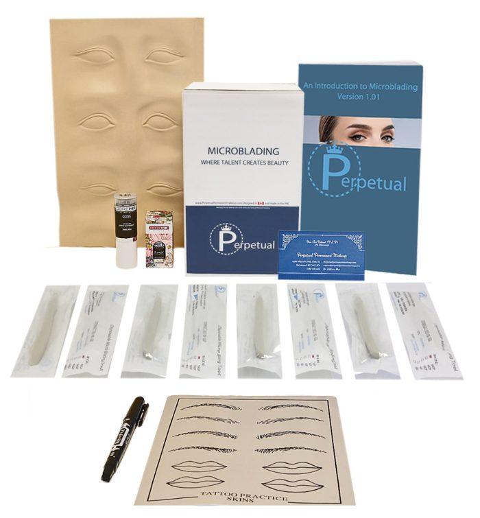 perpetual permanent makeup microblading disposable intermediate kit