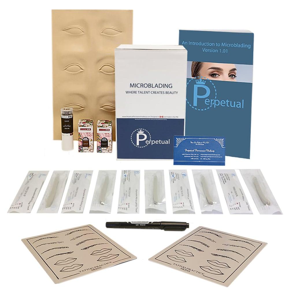 perpetual permanent makeup microblading disposable professional kit