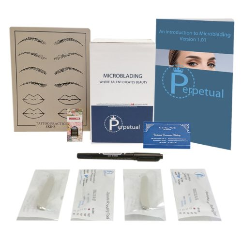 Perpetual Permanent Makeup Microblading Disposable Starter Kit