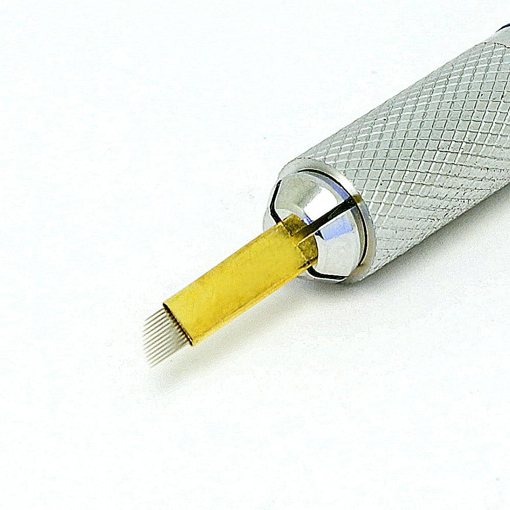 Perpetual permanent makeup microblading pen handle elle in blue heels 3