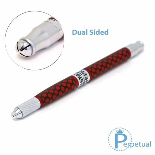 Perpetual permanent makeup microblading pen handle red vogue 1