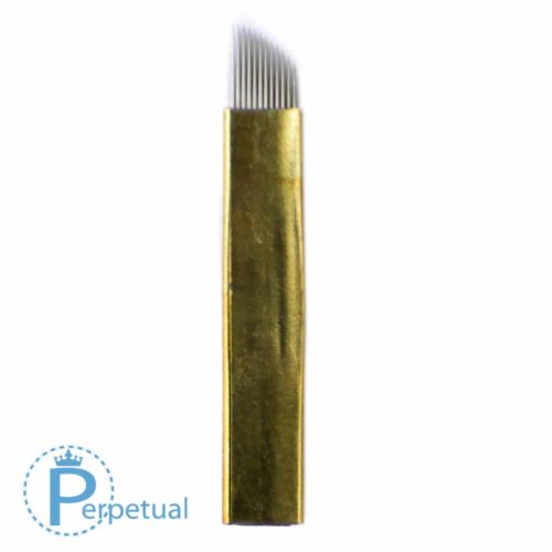 perpetual permanent makeup microblade 12 curved flat hard