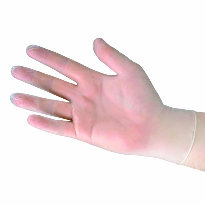 Bowers Medical Derma Sheer Vinyl Gloves