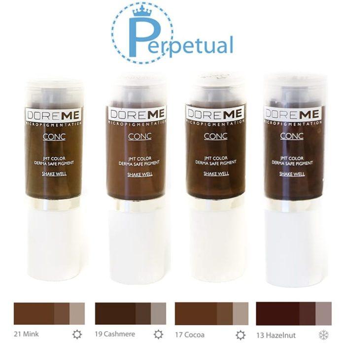 Doreme concentrate medium brown set