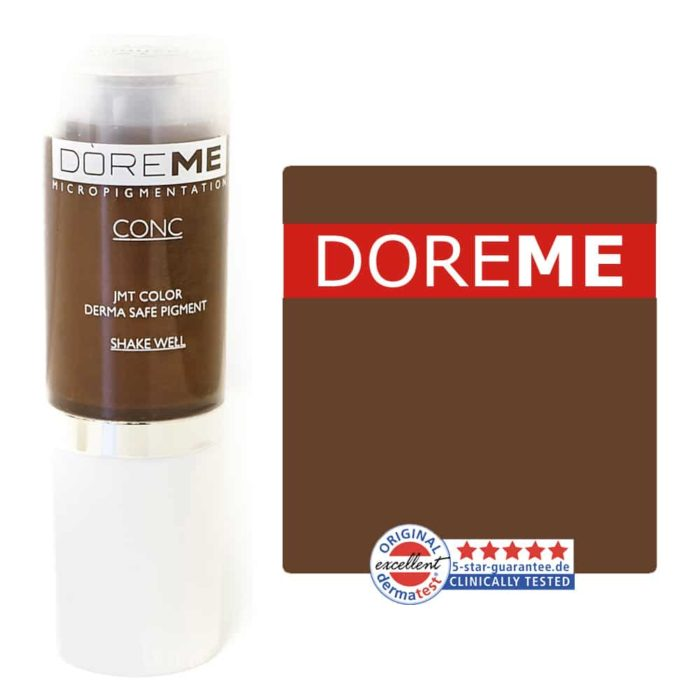 Doreme Pigment Concentrate Medium Brown Set