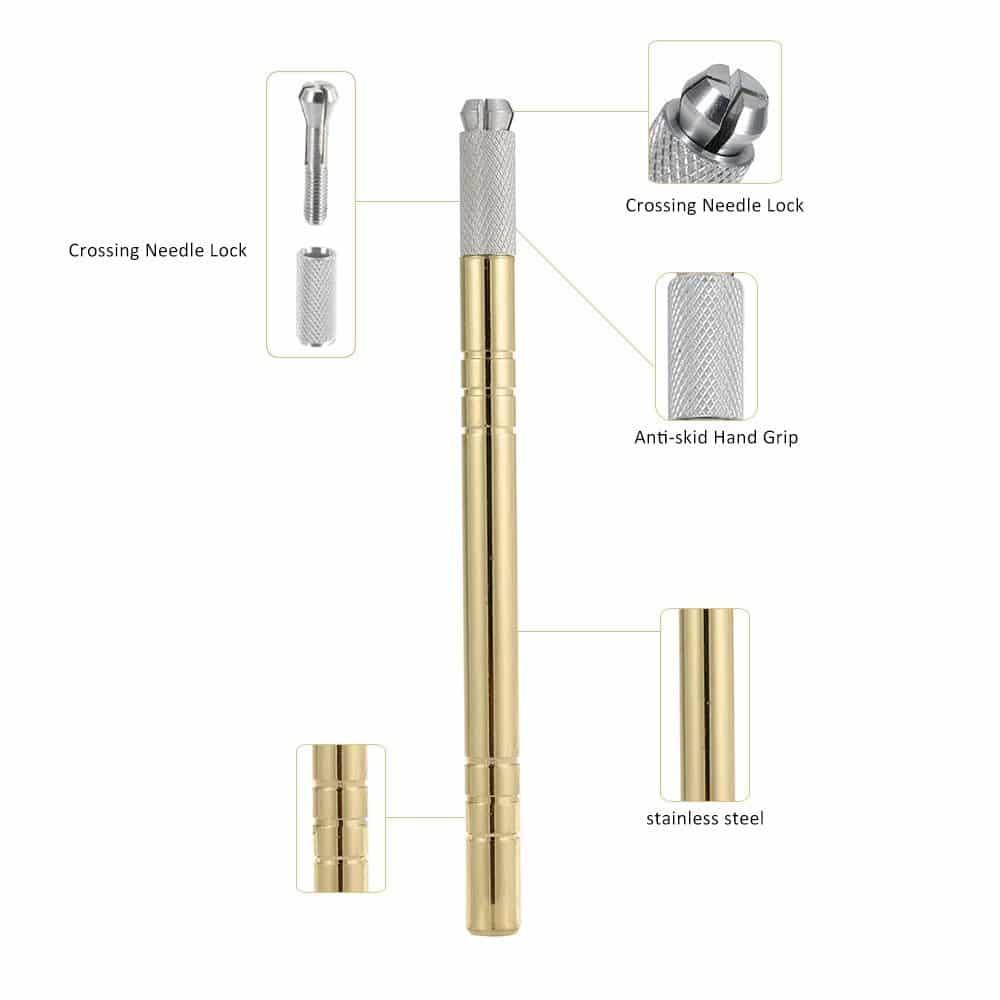 Heavy Microblading Pen: Gold