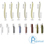 Disposable Microblade Pen: Curved Flat & U shaped
