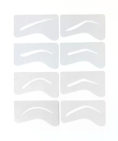 Microblading Eyebrow Stencils