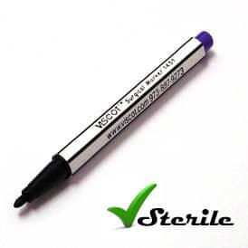 Viscot Sterile Skin Scribe Marker Pen