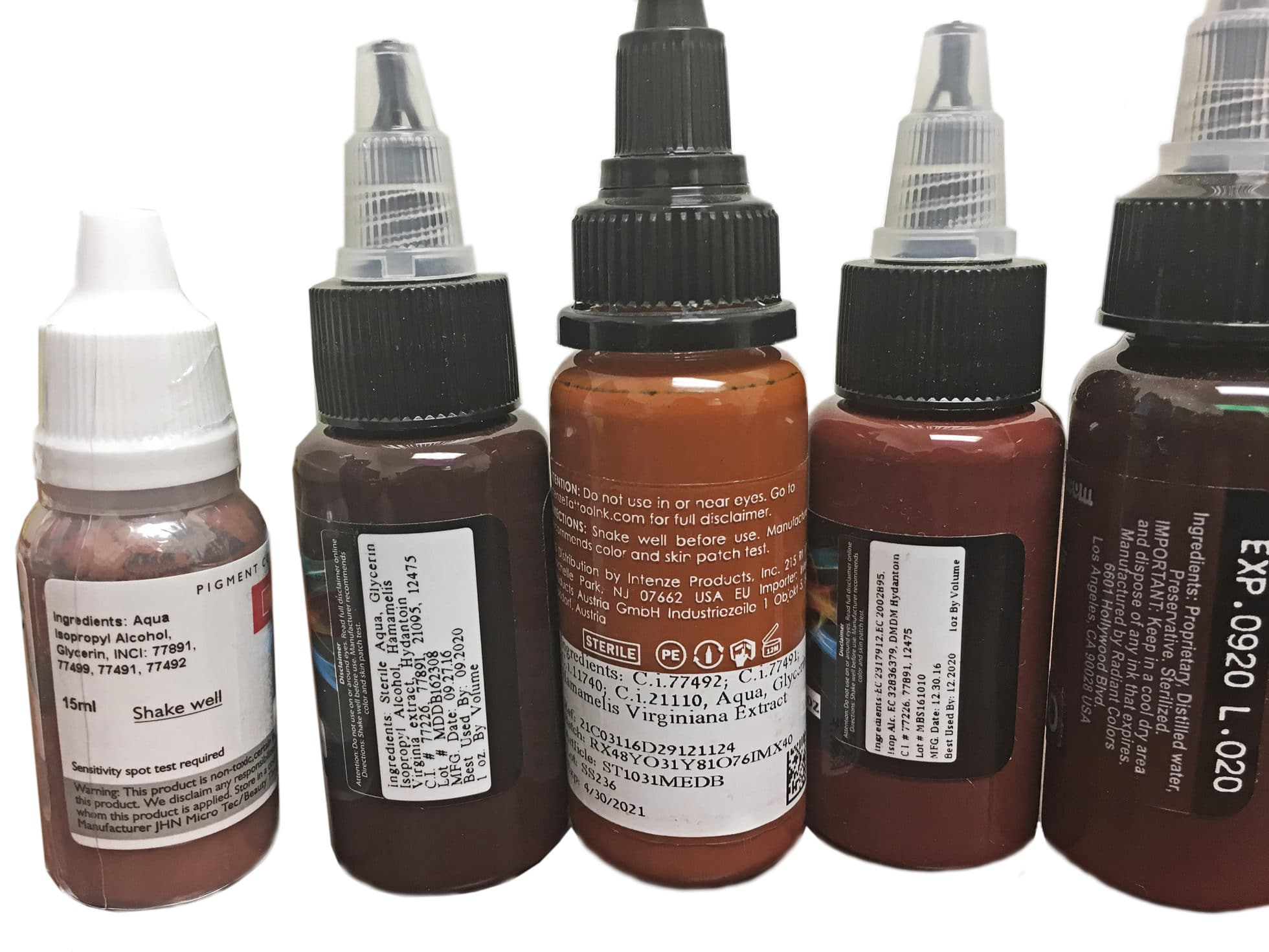 Natural Pigments Used For Black Tattoo Ink
