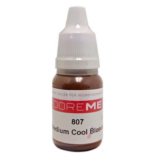 doreme organic pigment Medium cool blonde 807
