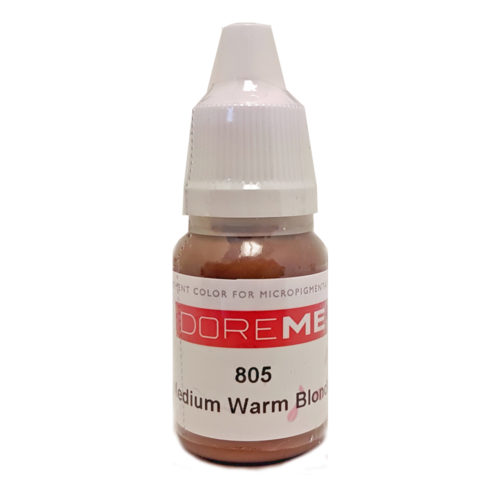 Doreme Organic Eye Pigment: Medium Warm Blonde