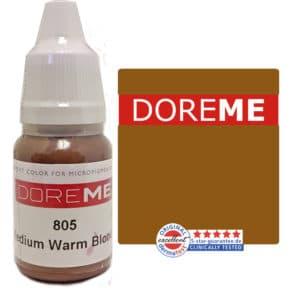 doreme organic pigment medium warm blonde 805