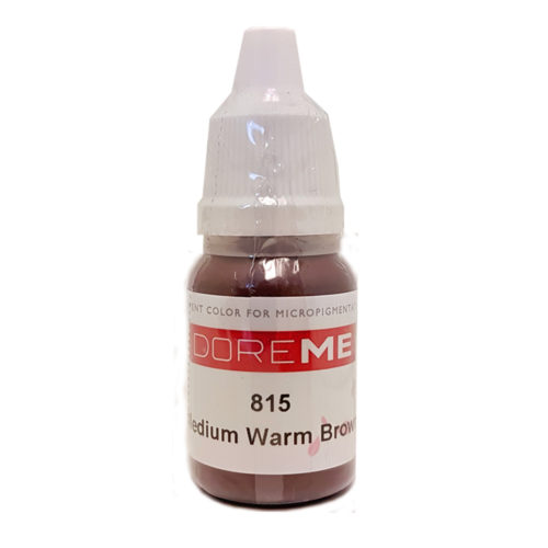doreme organic pigments medium warm brown 815