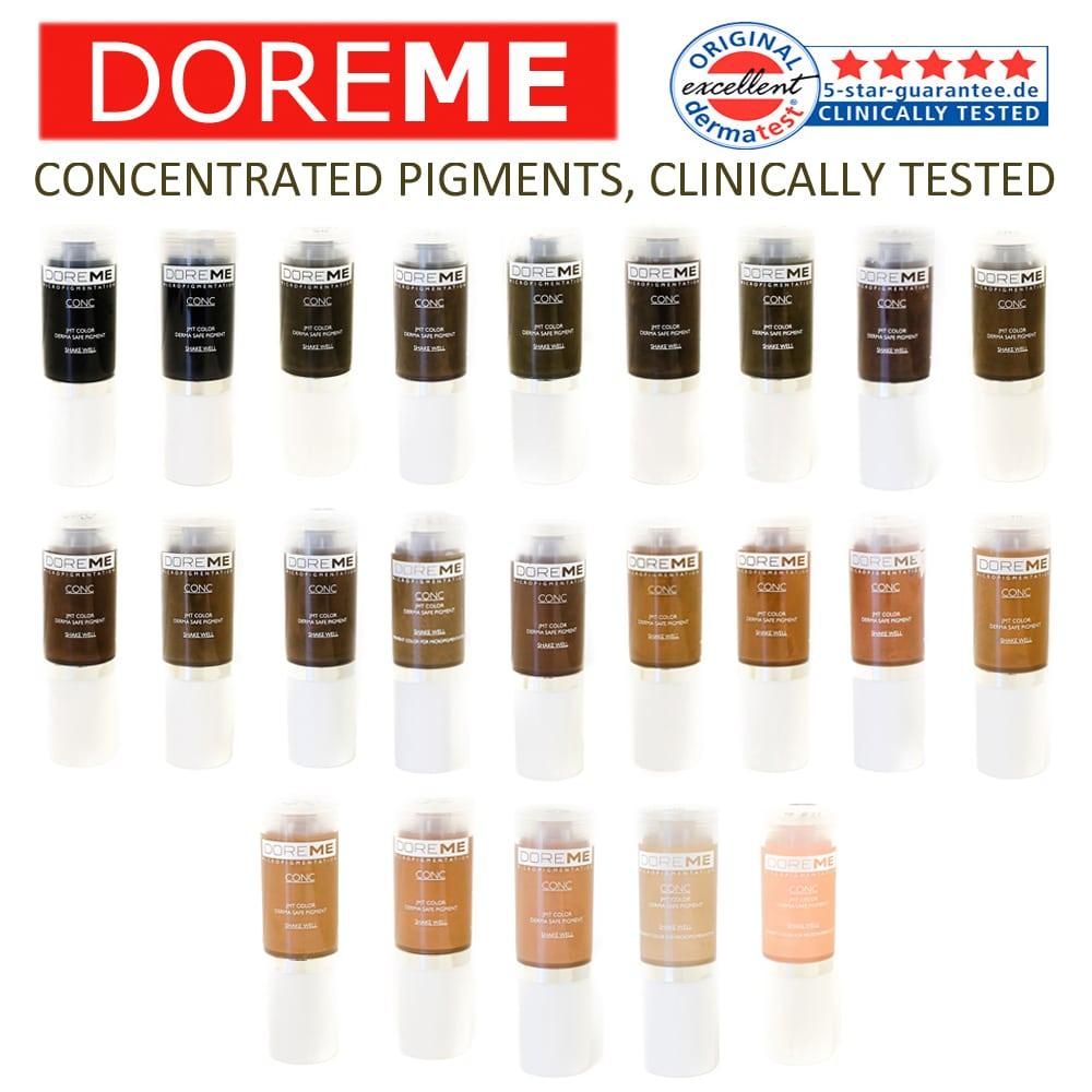 Doreme Pigment Concentrate Color: Dark Ash