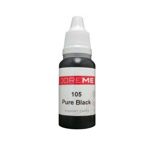 Doreme Permanent Makeup Color: Pure Black