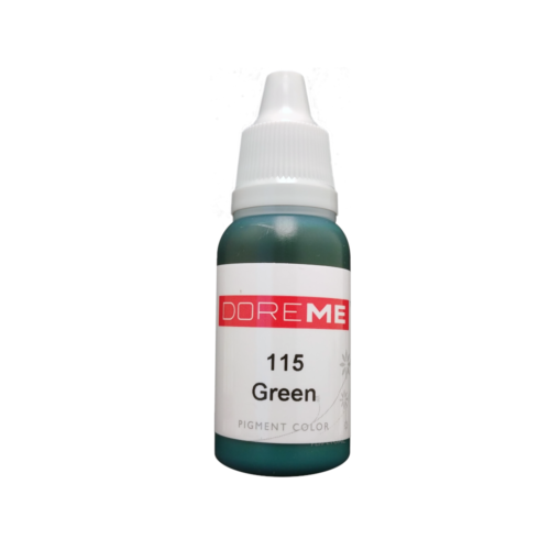 Doreme Permanent Makeup Color: Green