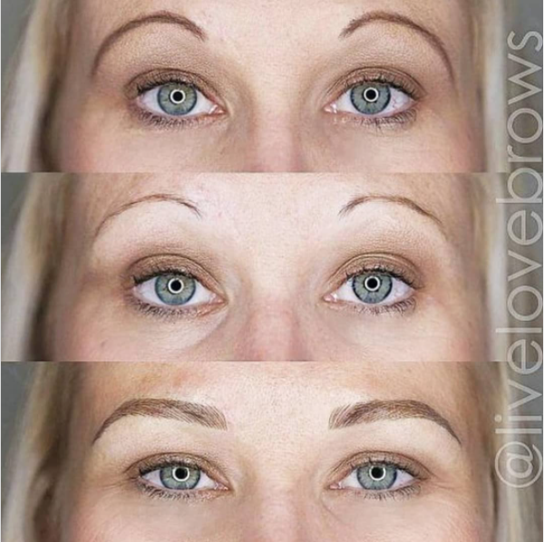 Microblading Submission – Holly