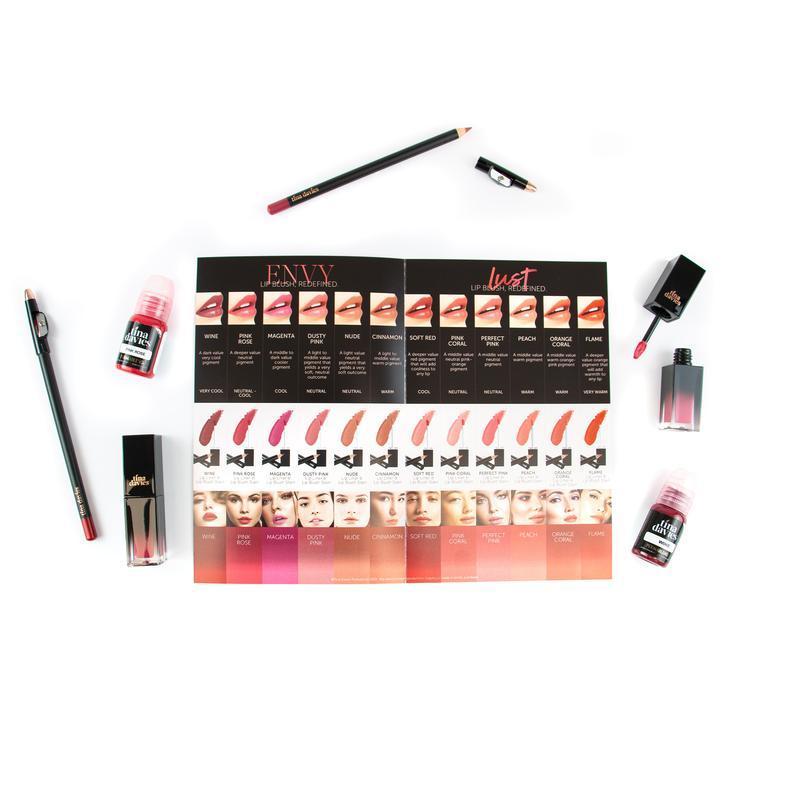 Tina Davies I Love Lips Lust Pigment 11